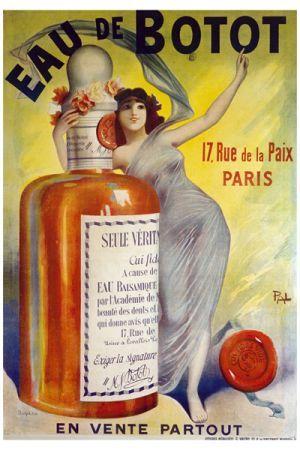 Eau de Botot rue de la Paix Paris