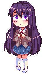 Yuri Pixel by MyTwistedMind