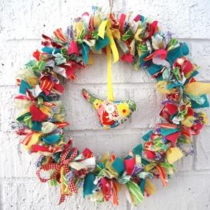 Birdie Wreath by Bubby Makes Three