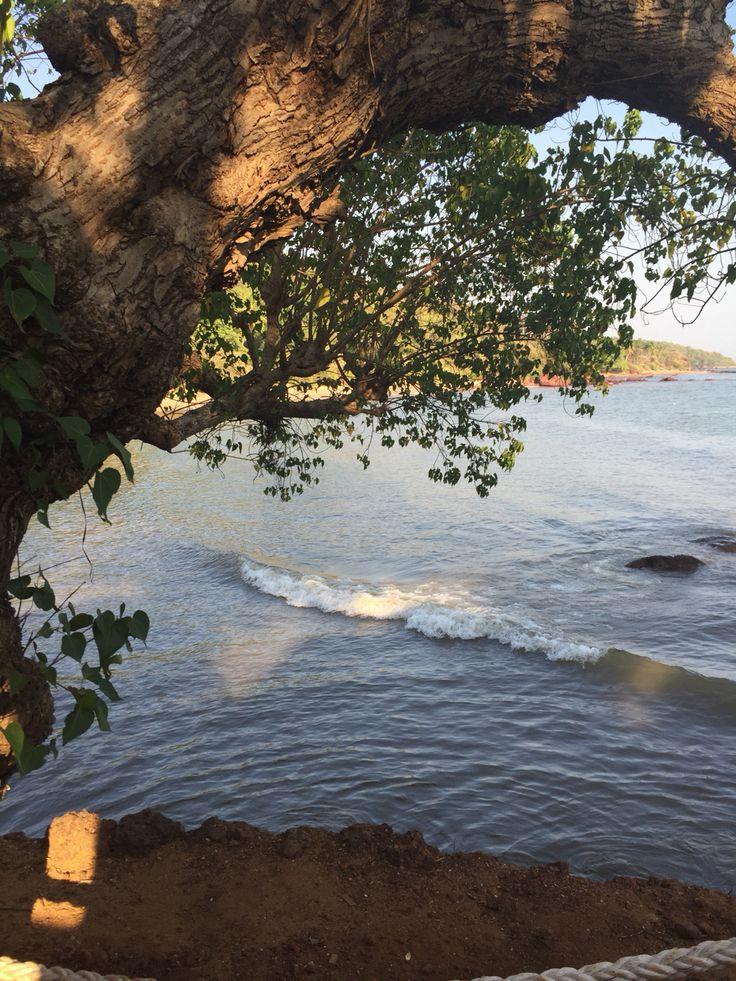 Odxel beach at Bay 15, Goa