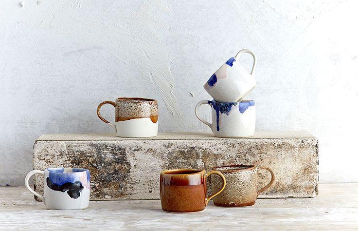 Melt Mugs by Robert Gordon — The Design Files   Australia's most popular design blog.