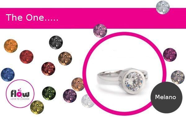 De zilveren sieraden uit The One collectie van Melano blinken uit in eenvoud. Deze mooie sieraden worden een onderdeel van je persoonlijke look. Dat maakt ze anders dan andere sieraden, dat maakt ze: The One. De steentjes van de zilveren ring zijn verwisselbaar. Kies jouw favoriete kleur en maak jouw ring nog persoonlijker!