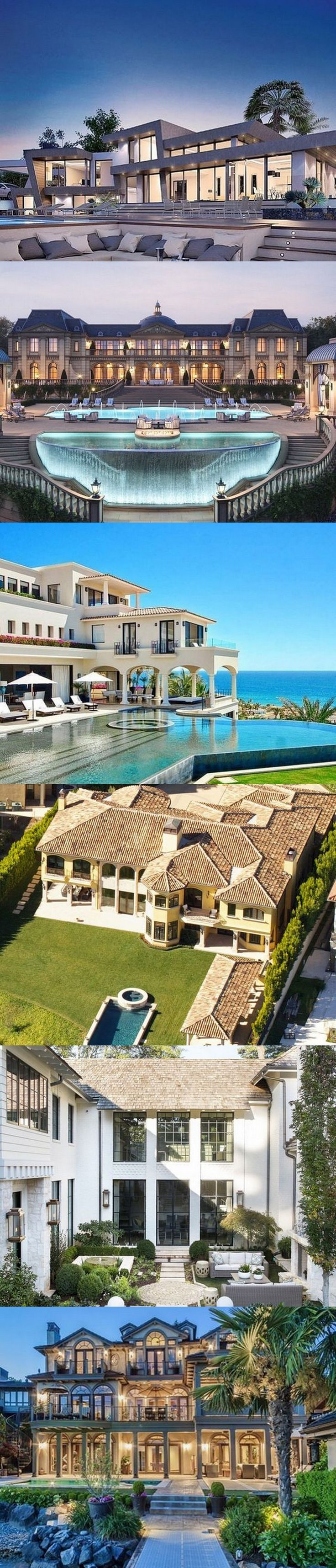 54 stunning dream homes mega mansions from social media - Nice Big Houses With Pools