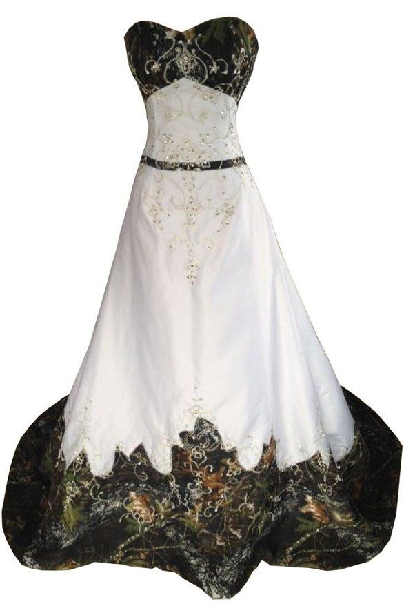 Camo Wedding Dress