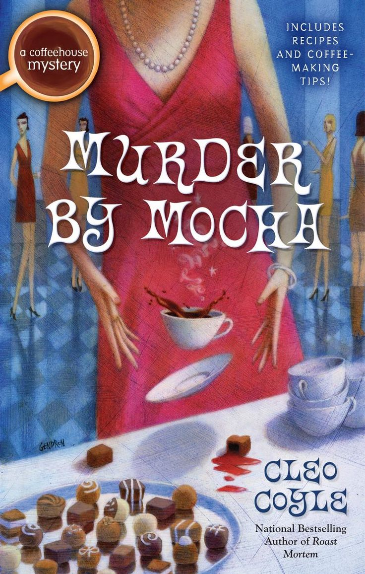 Cleo Coyle....another one of my all time favorite cozy mystery writers.  Coffee is my favorite & we relate really well together.  Love the recipes in the back of the book!