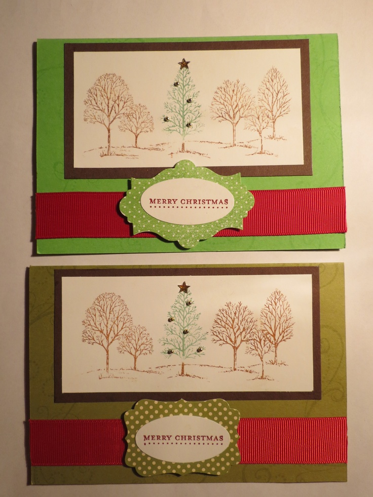 'Lovely as a tree' Christmas cards