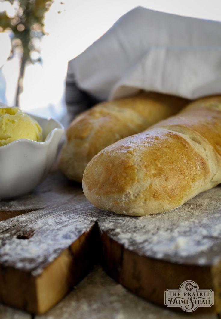 French Bread Recipe | The Prairie Homestead | Recipe ...
