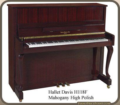 Hallet Davis H118F Upright Piano