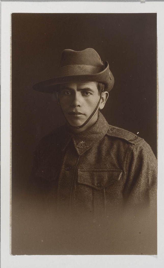 NSW servicemen portraits, 1918-19 - Alfred Duroux