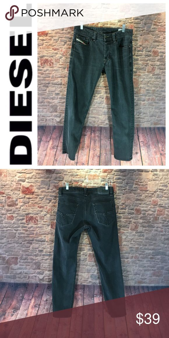 "💸Men's Diesel Larkee-T Regular Tapered Leg jean 💸Men's Diesel Larkee-T Regular Tapered Leg jean size 30  Measurements are approximate  Inseam 28"" Rise 9 1/2"" Leg width opening is 6 1/2"" Waist laying flat 15 1/2"" across   Jean is a vintage style from Designer Diesel Industrial in a faded black Diesel Jeans"