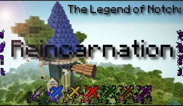 The legend of Notch Mod para Minecraft 1.5.1