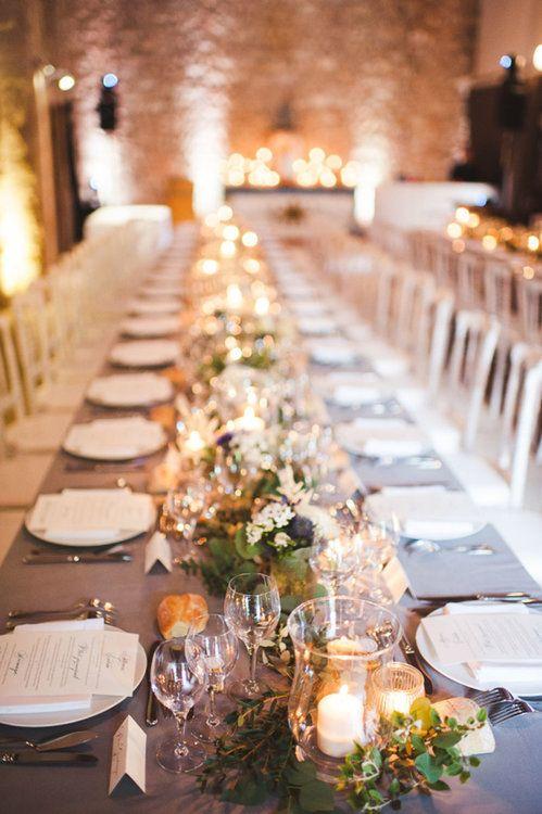 Kerzen Fur Die Hochzeitsdekoration Im Warmen Licht Den Schonsten