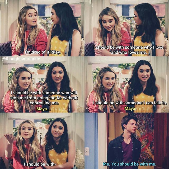 Does this actually happen if do please LORDY JESUS let the girl meets world reunite one day!