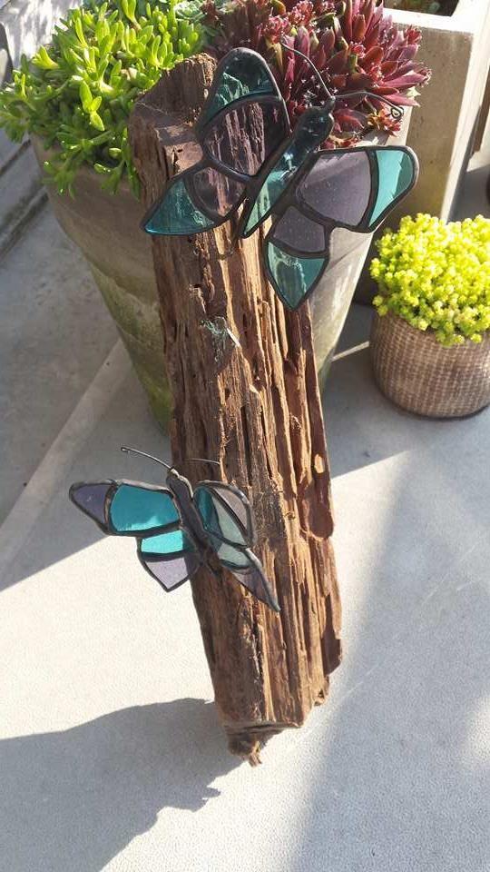 Butterfly ~ Vlinder ~ Stained glass ~ tiffany ~ RannDago -> ArrowGlass