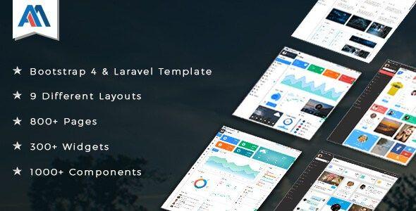 Admire v2.1 Responsive Bootstrap 4 Admin   Laravel Template