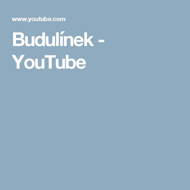 Budulínek - YouTube