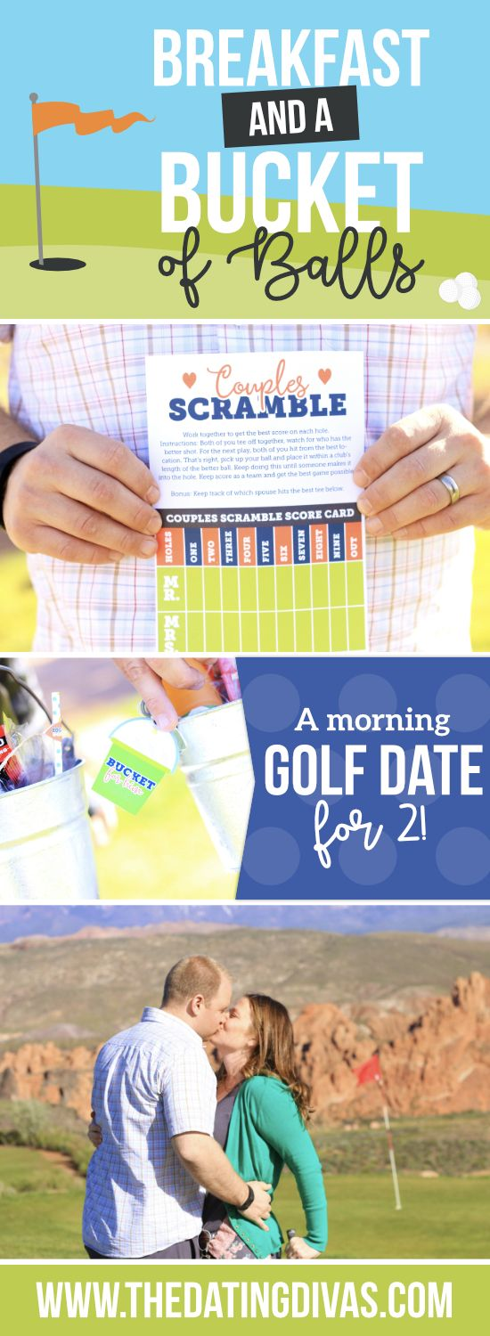 My husband would love a golf date! This makes me so excited for date night!