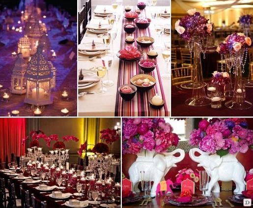 idee deco mariage oriental - Ide Thme Mariage