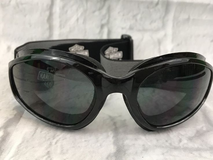 Harley Davidson Sunglasses Riding Goggles Black Gift  | eBay