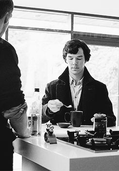 """Read online a classic Sherlock Holmes by Sir Arthur Conan Doyle: """"The Red-Headed League"""" with corresponding Benedict Cumberbatch GIFS."""