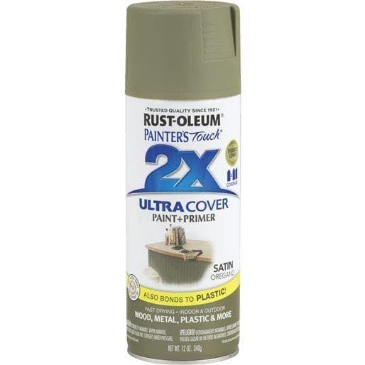 Rust-Oleum Sat Oregano (Green) Spray Paint 249069 Unit: Each
