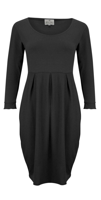 Masai Clothing NEW - Plain Gerdy Tunic in 011-Black