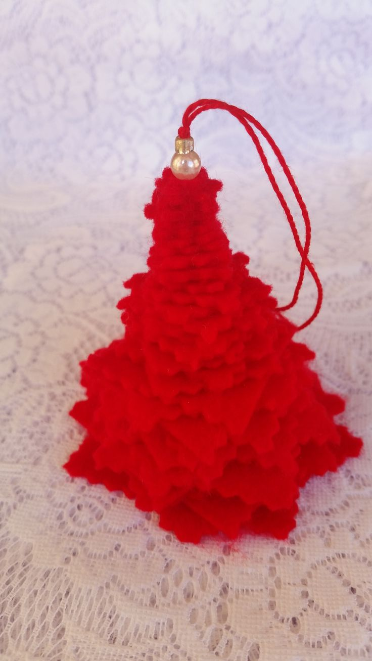 Margarita ornament - Felt Ornament Christmastree