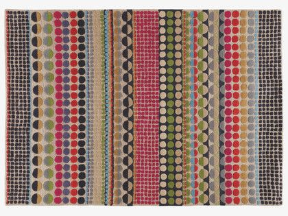 BLOOMSBURY MULTI-COLOURED Wool Large geometric wool rug 170 x 240cm - HabitatUK