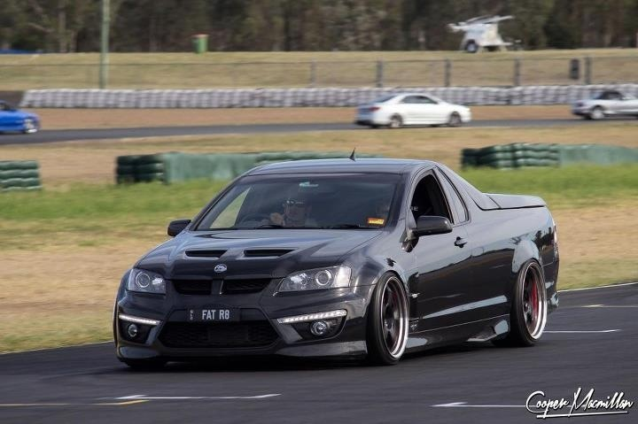 So durty! Holden HSV r8 Maloo Ute