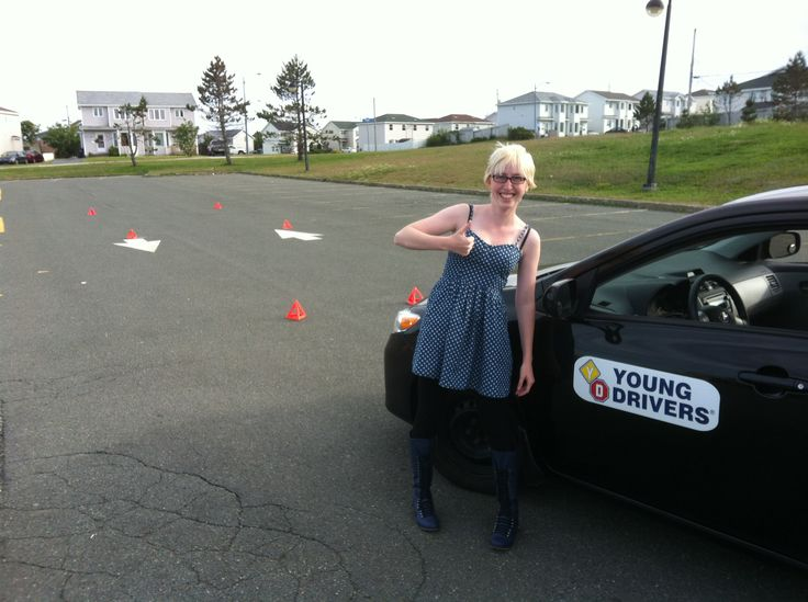 Young Drivers student learns to drive and survive with emergency maneuvers.  Get driving lessons in #Newfoundland with Canada's driving school https://www.yd.com/stjohns/default.aspx