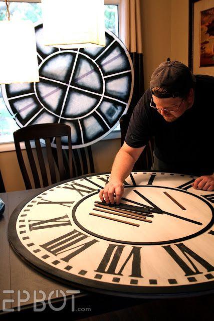 EPBOT: DIY Giant Tower Wall Clock