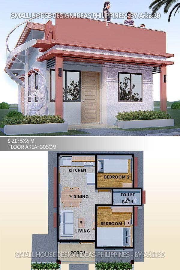 Small House Design Ideas No2 Small House Design Small House Design Plans House Construction Plan