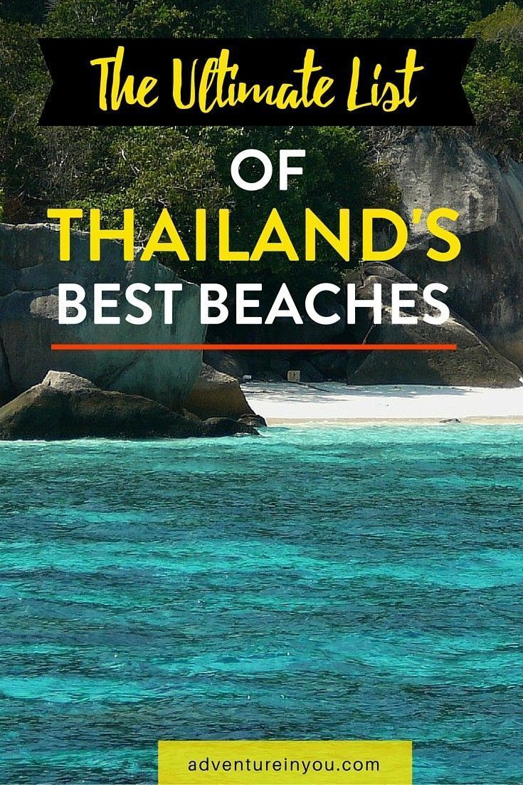 Planning a Trip to Thailand but unsure which beach to visit first? Here is the ultimate guide to some of the best beaches in Thailand!
