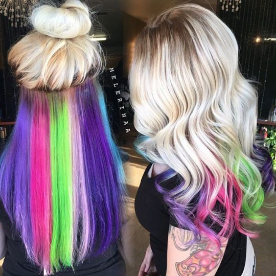 Best 25+ Underneath hair colors ideas on Pinterest | Dying ...