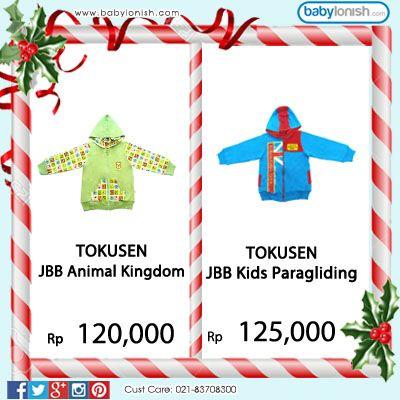 Dingin di musim hujan?? Pastikan si kecil tetap hangat dengan jaket bolak balik dari Tokusen.  Bersertifikat SNI. Gratis ongkir seluruh Indonesia.