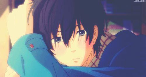 ( となりの怪物くん ) Tonari no Kaibutsu-kun. My Little Monster. Haru Yoshida blushing ♡ I love Haru!!!