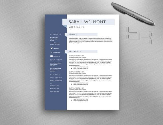 18 best Curriculum Vitae designs images on Pinterest Resume - sample usar unit administrator resume