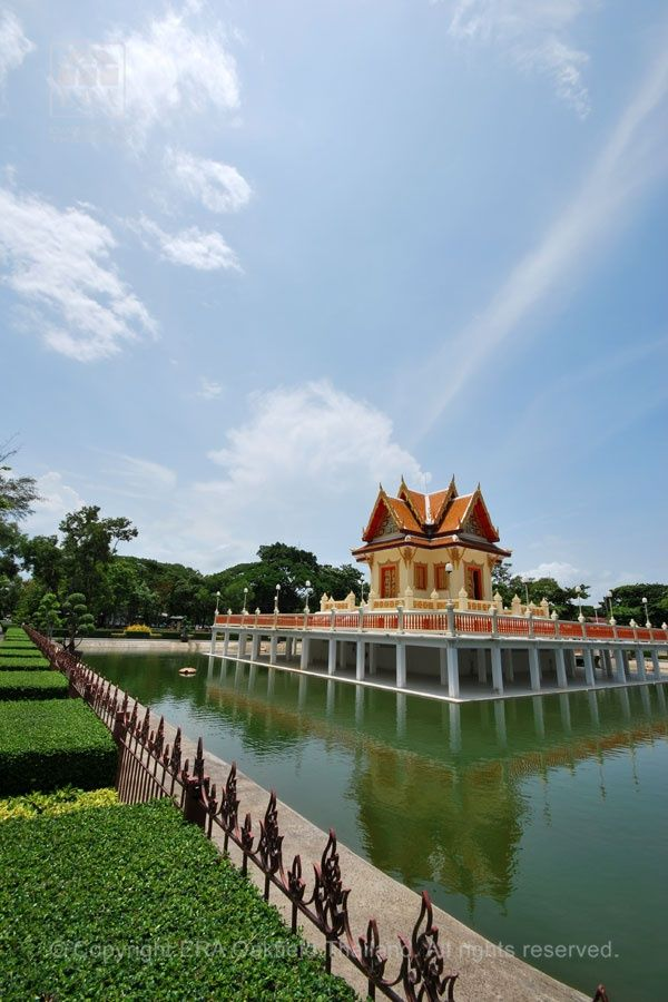 Beautiful temples in the middle of town. #Rayong, #Thailand.