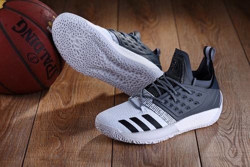 Discount adidas Harden Vol. 2 Dark Grey and White For Sale - ishoesdesign 612f6c619