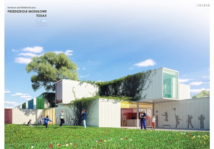 architectural competition for the kindergarten. INDO project.