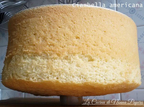 Angel cake- ciambella americana