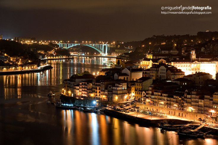 Portugal - Porto - O´porto by night by Miguel Rezende