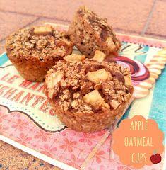 Juliart: Tartaletas de avena y manzana / Juliart: Apple oatmeal cups