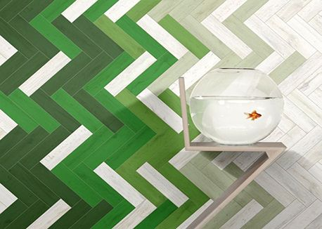 CERSAI Tile Trend Report 2013 #tile #pattern #green