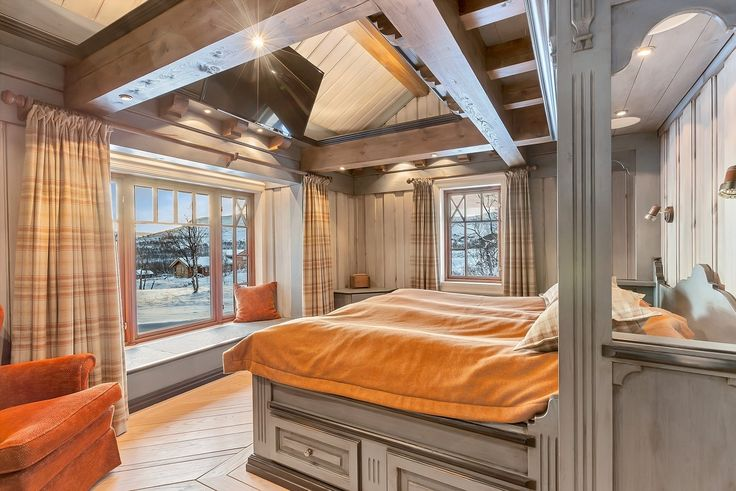 Master bedroom 1. etasje. Legg merke til detaljene