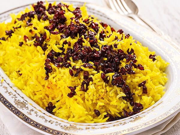Saffron is widely used in most of Persian dishes, especially when serving guests or for special occasions in Iran. The Saffron rice recipe has amazing look and smell, and tastes great.