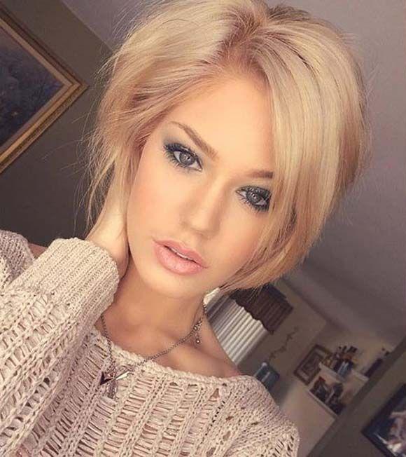 Astonishing 1000 Images About Haare Amp Beauty On Pinterest Bangs Best Short Short Hairstyles Gunalazisus