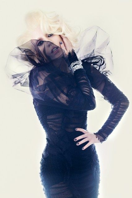 October 2009 Another image from her British Vogue shoot