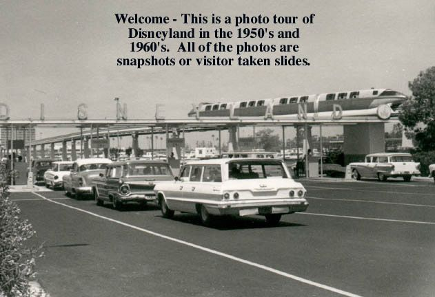 Photo tour of Disneyland in the 1950's and 60's. All of the photos are snapshots or visitor taken slides.