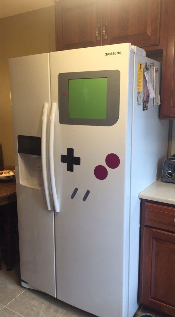 Geladeira de Game Boy